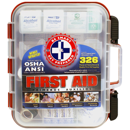 Picture of Be Smart Get Prepared First Aid Kit (326 Pcs)