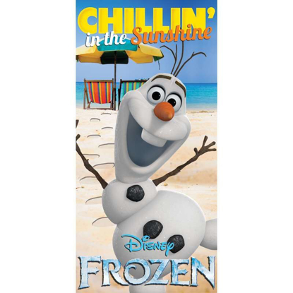 Picture of Disney Frozen Chillin in the Sunshine Olaf Bath Beach Towel