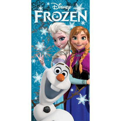Picture of Disney Frozen Elsa, Anna, and Olaf Beach Bath Towel