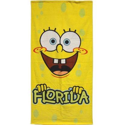 Picture of Disney Florida Sponge Bob Beach Towel