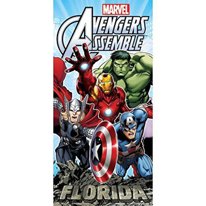 Picture of Avengers Rock Beach Towel