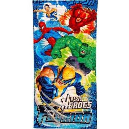 Picture of Marvel Heroes Explosives Beach Towel (Florida Namedrop)