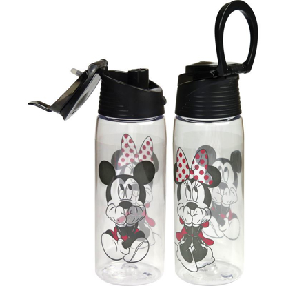 Picture of Disney Gazing Mickey Minnie Flip Top Water Bottle