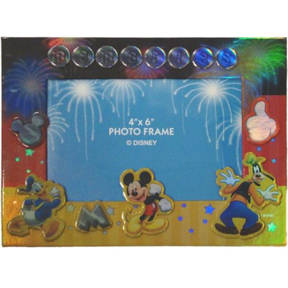 Picture of Disney Mickey Mouse Donald Goofy Memories Picture Frame