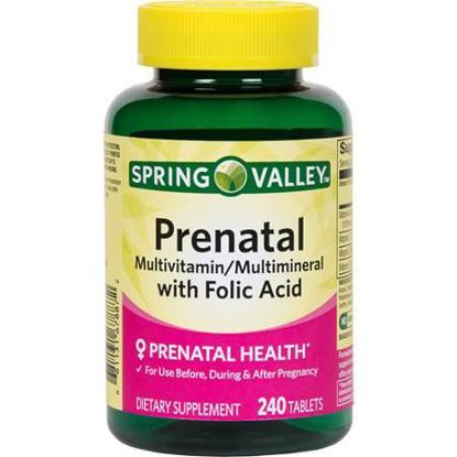 Picture of Spring Valley Prenatal Multivitamin 240 tablets