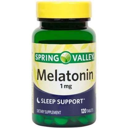 Picture of Spring Valley Melatonin 1 mg 120 Tablets