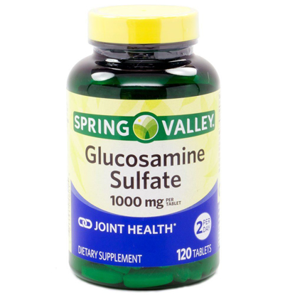 Picture of Spring Valley - Glucosamine Sulfate 1000 mg, 120 Tablets