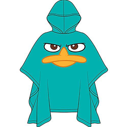 Picture of Phineas & Ferb Agent P Perry Rain Poncho