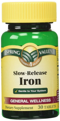 Picture of Spring Valley Slow Release Iron 45mg