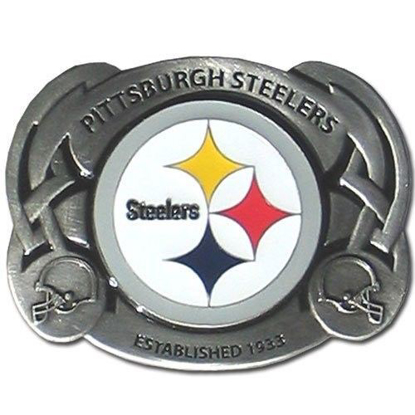 Picture of NFL Pittsburgh Steelers Steel Belt Buckle