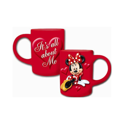Picture of Disney Minnie Mouse All About Me 14oz. Ceramic Mug