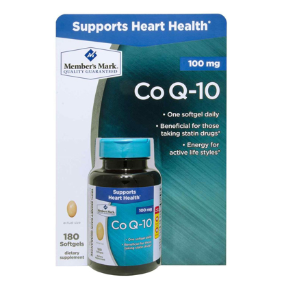 Picture of Member's Mark - Co Q-10 100 mg 180 Softgels