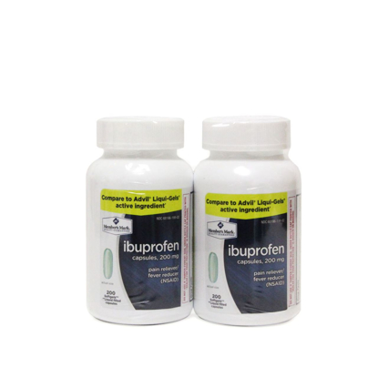 Picture of Member's Mark Ibuprofen Coated Tablets 200 mg Pain Reliever Fever Reducer Nsai