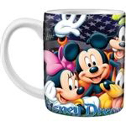 Picture of Disney Mickey Mouse Donald Duck Daisy Duck Goofy Pluto Firework 14oz. Ceramic Mug