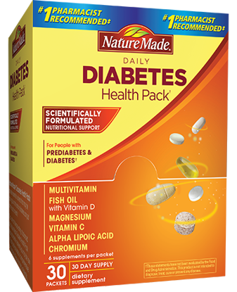 Picture of Nature Made Diabetes Health Pack 60 Packets