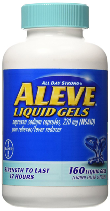 Picture of Aleve LiquidGels 160 Liquid Gels