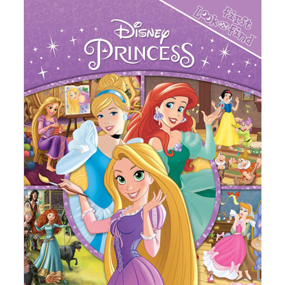 Picture of Disney Princess First Look and Find Book