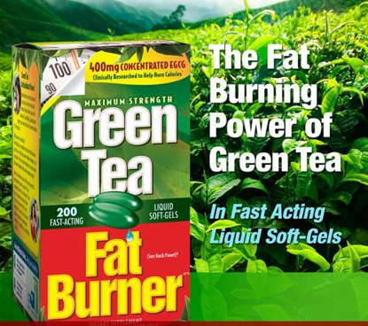 Picture of Applied Nutrition Green Tea Fat Burner with EGCG 400mg 200 Soft gels