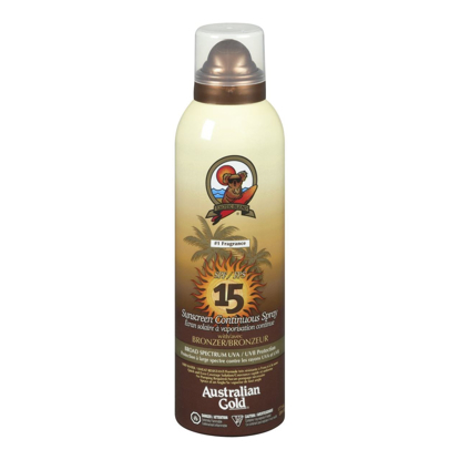 Picture of Australian Gold SPF 15 Continuous Spray Bronzer, 6 Ounce
