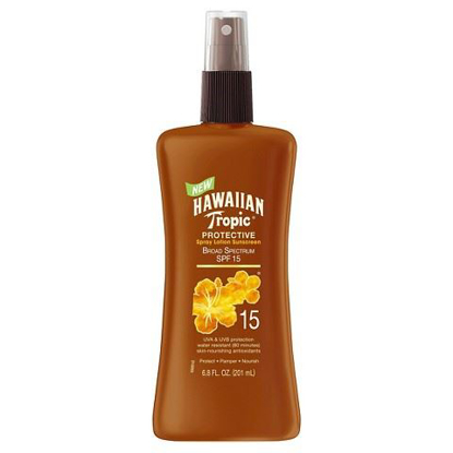 Picture of Hawaiian Tropic Protective Tan Lotion Spf#15 6.8oz