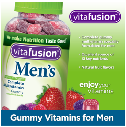 Picture of Vitafusion Mens Complete Multivitamin 220 Gummies