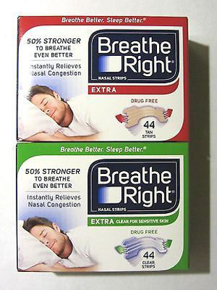 Picture of Breathe Right Nasal Strips, Extra, 88 Strips