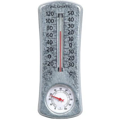 Picture of AcuRite 8-Inch Thermometer with Humidity