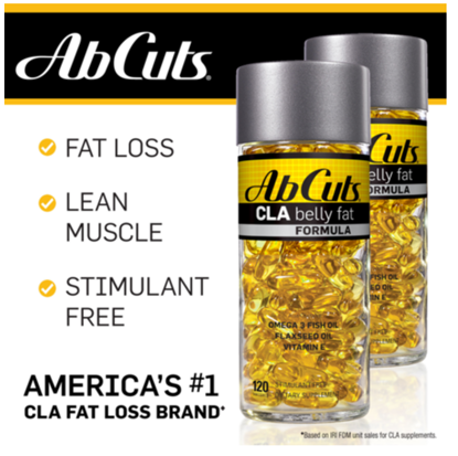 Picture of AbCuts Enhanced CLA Belly Fat Formula 3200mg 240 Softgels