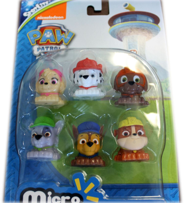 Picture of Paw Patrol Micro Lite Fash'ems Figure Set of 6 Toys