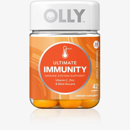 Picture of Olly Ultimate Immunity Tangerine Twist Vitamin Gummies - 42 Count