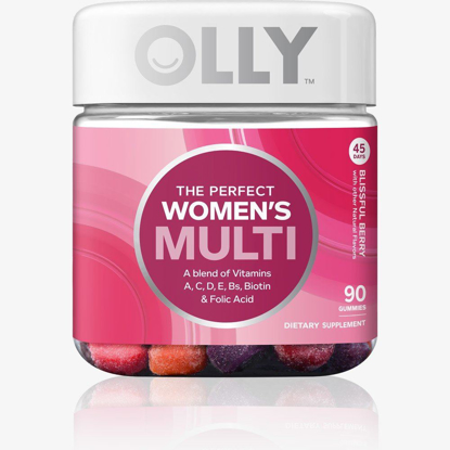 Picture of Olly the Perfect Women's Multi-vitamin Blissful Berry Gummies - 90 Count
