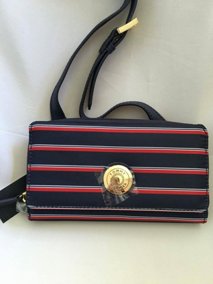 Picture of Tommy Hilfiger Crossbody Phone Case Wallet in Red, White, and Blue