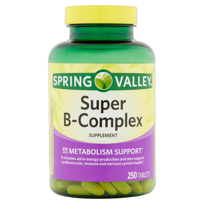 Picture of Spring Valley Super B Complex 250 Tablets