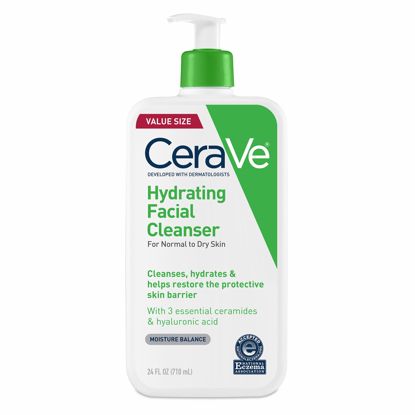 Picture of Cerave Hydrating Facial Cleanser, 24 oz.