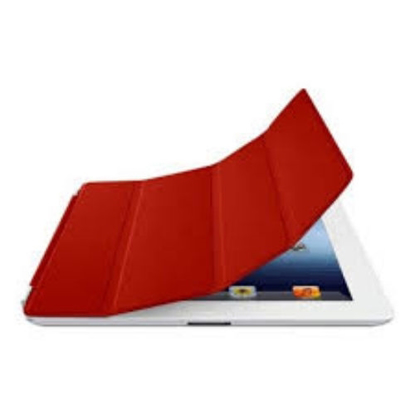 Picture of Apple iPad Smart Cover Leather (Red) - MD304LL/A