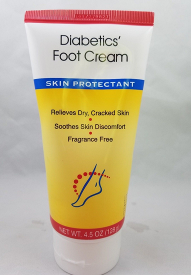 Usa Angel Diabetics Foot Cream Skin Protectant Fragrance Free 4 5