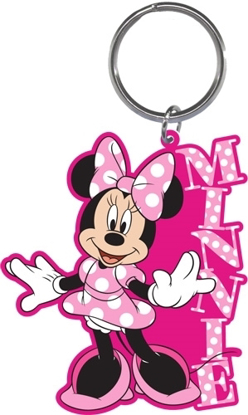 Picture of Disney Minnie Mouse Standing Laser Cut Keychain