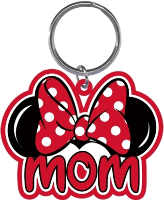 Picture of Disney Family Mom Minnie Mouse Bow Keychain Keyring