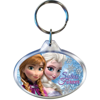 Picture of Disney Frozen Sisters Elsa Anna Oval Keychain