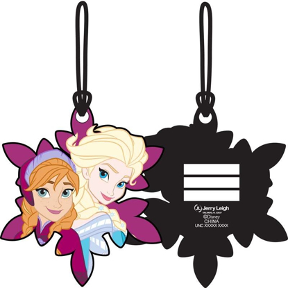Picture of Disney Frozen Anna and Elsa Sisters Luggage Tag, Multi