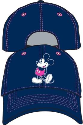 Picture of Disney OG Smile Mickey Navy Adult Hat Baseball Cap