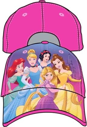 Picture of Disney Little Girls Princess Baseball Cap, Pink