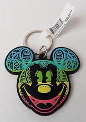 Picture of Day of Mickey Head Lasercut Keychain
