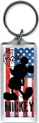 Picture of American Icon Mickey Mouse Lucite Keychain