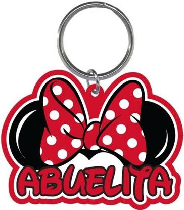 Picture of Disney Minnie Mouse Abeulita Grandma Family Lasercut Keychain Keyring Key Chain