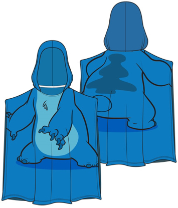 Picture of Disney Stitch Pose Hooded Towel