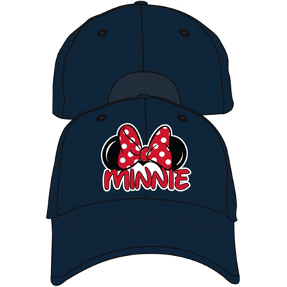 Picture of Disney Adult Minnie Fan Baseball Hat, Black