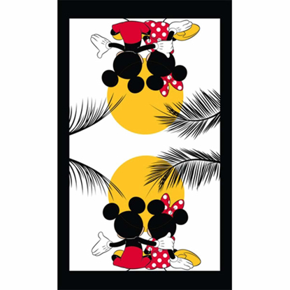 Picture of Disney Mickey Minnie Character Sunset Multi Single Kitchen Towel
