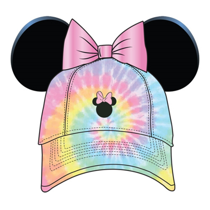Picture of Disney Adult Minnie Sassy Bow Tie Dye Ear Hat Multi