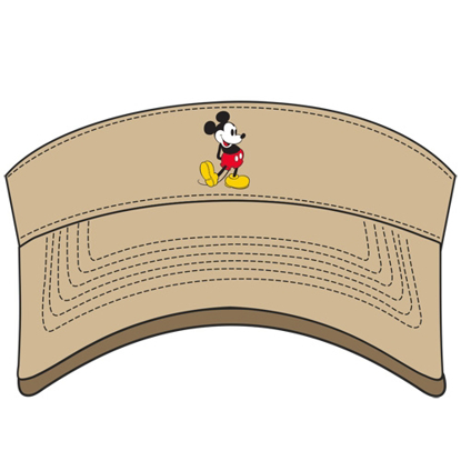 Picture of Adult Mickey Standing Visor Khaki Visor